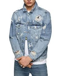 Zara Men Ripped Denim Jacket 0840 424 At Amazon Mens