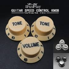 3pcs Electric <b>Guitar</b> Volume Tone <b>Speed Control Knobs</b> Plastic for ...