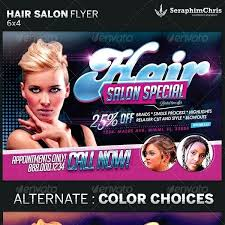 salon flyer template best spa and hair templates beauty free psd