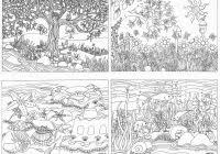 Items Similar To Printable Waterfall Nature Scene Coloring For