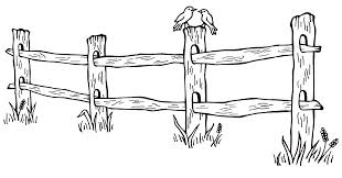 fence drawing. Fence Drawing. During The Week Of Christmas, I Drove My Mother, Her Dog Drawing O