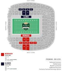 Alumni Stadium Seating Chart Illinois Ireland 2021 Ticket Packages Official Game Tickets