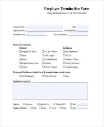 Termination Letter Thumbnail Spectacular Termination Form Template