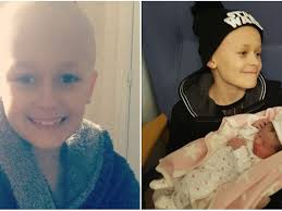 How Bristol boy Bailey Cooper, 9, fought cancer long enough to meet his  baby sister - Bristol Live