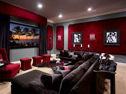 home theater acoustic wall panels. view in gallery dashing tufted wall panels red for the elegant home theater [design: roman interior acoustic