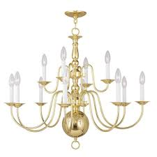 filament design providence 12 light polished brass incandescent ceiling chandelier