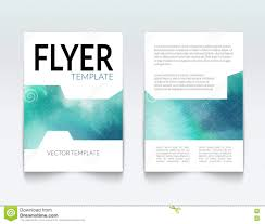 business brochure report design template vector flyer layout business brochure report design template vector flyer layout colorful watercolor background