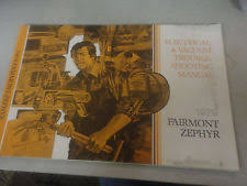 electrical in brochures catalogs rare 1979 ford fairmont and zephyr electrical vacuum trouble shooting manual