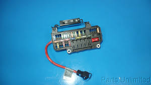 02 05 bmw 7 series e65 e66 745li trunk fuse box assembly w relays this is a trunk fuse box fuses and relays removed from a 2004 bmw 745li should fit 02 05 bmw 7 series but please double check to be sure of fitment