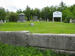 Severy Hill Cemetery, Dixfield, Maine - Burial Records