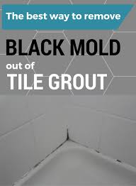 remove mold from shower caulk the black mold formed on near the bathtub tiles can be
