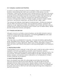business plan template south africa   best template example free sample business plan for event planning untapped business