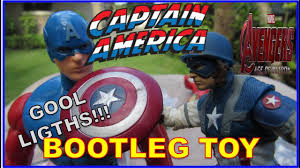 capn america bootleg toy gool lights a variety of styles for infinte avengers 2