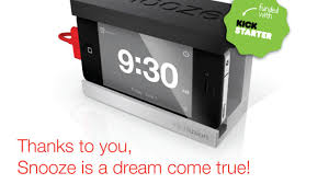 We were tired of fumbling for the iPhone alarm in the morning, so we created