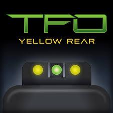 brite site tritium fiber optic green front yellow rear