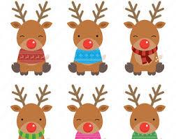 reindeer christmas clipart. Simple Clipart Reindeer To Reindeer Christmas Clipart N