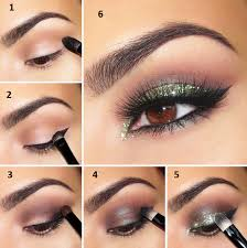 green shimmery makeup for small eyes admit it you