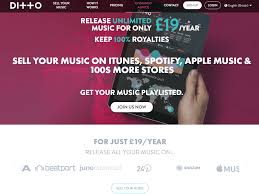 Ditto Music Chart Registration Ditto Digital Music Distribution Promotion Buzzsonic