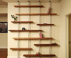 custom oak and aluminum adjule shelving unit by anand gowda design custommade com