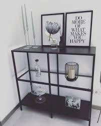 Vittsjö Ikea Idee Zum Dekorieren Minimalistisch Schwarz