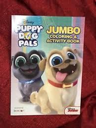 Disney Puppy Dog Pals Jumbo Coloring Activity Book Games Color