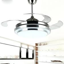 scandinavian 42 fan 42 inch ceiling fan with remote dimming led lamp modern invisible