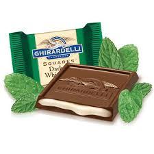 mint chocolate candy brands. Ghirardelli Dark Chocolate With Mint Filling Box For Candy Brands