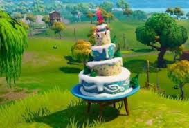 Fortnite Birthday Cake Locations 10 Tips To Find All The Hidden Cakes
