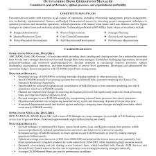 Personal Banker Resume Samples Achievements Example Free Templates
