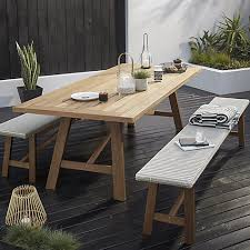 garden dining table with benches. buy john lewis stockholm 6 seater dining table \u0026 bench set, fsc-certified (eucalyptus), natural from our garden furniture sets range at lewis. with benches g