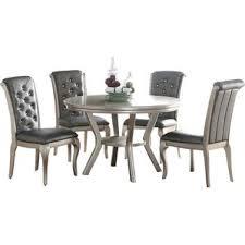gray dining sets. adele 5 piece dining set gray sets l