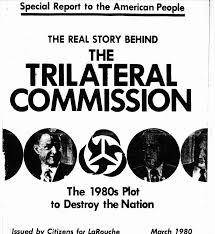Resultado de imagen de comision trilateral rockefeller