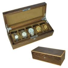 watch presentation box picture more detailed picture about new new arrival monvois black walnut solid wood watch box watch collection box storage box male limited