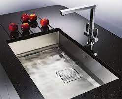 a modern kitchen sink