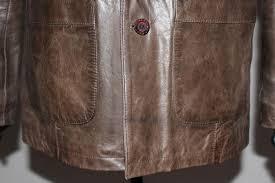 american base new york leather jacket