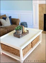 doutor for most up to date coffee tables with baskets underneath view 8 of 20