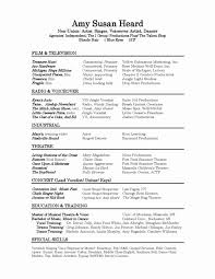 Performance Resume Beauteous Singer Songwriter Resume Sample Lovely Performance Resume Resume