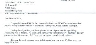 Congratulations Letter Best Letter Of Congratulations From The US Ambassador UKC