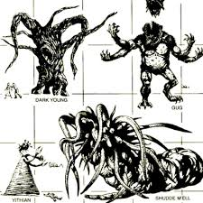 Cthulhu Size Comparison Chart Monster Brains