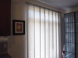 white panel track blinds for sliding glass patio door with door and window blinds