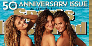 Sports Illustrated Swimsuit Cover 2014 Chrissy Teigen Lily.