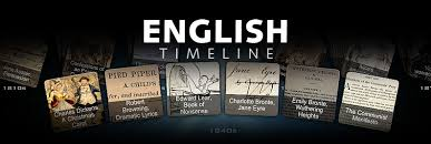 creative timelines for school projects english timeline