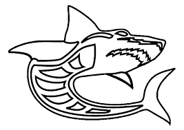 Small Picture Gray Shark Coloring Page Coloring Pages Animals Org