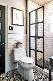 Black And White Shower Tile Designs 32 Best Shower Tile Ideas And Designs For 2019