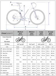 Bicycle Size Chart Frame Geometry And Size Guide Juiced Bikes