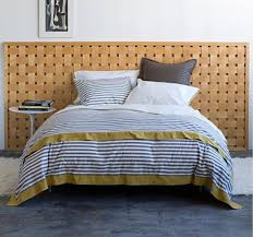 Similar Striped Bedding Dwell Studio vs West Elm Apartment Therapy