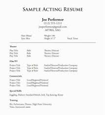 Acting Resume Sample 40 Best Writing A Resume Tips New Best Beauteous Best Resume Tips