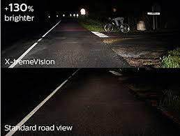 <b>100</b>% <b>Original PHILIPS</b> H4 X-treme Vision Car Headlight Bulb 130 ...
