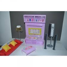 dollhouse furniture modern. Beautiful Dollhouse Barbie Size Dollhouse Furniture Modern Comfort Living Room Family Tv  Home Audio Couch Light Intended Furniture