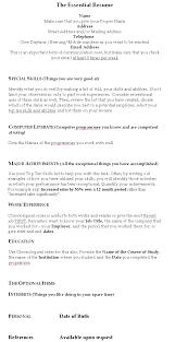 The Jobbank Resume Preparation Guide